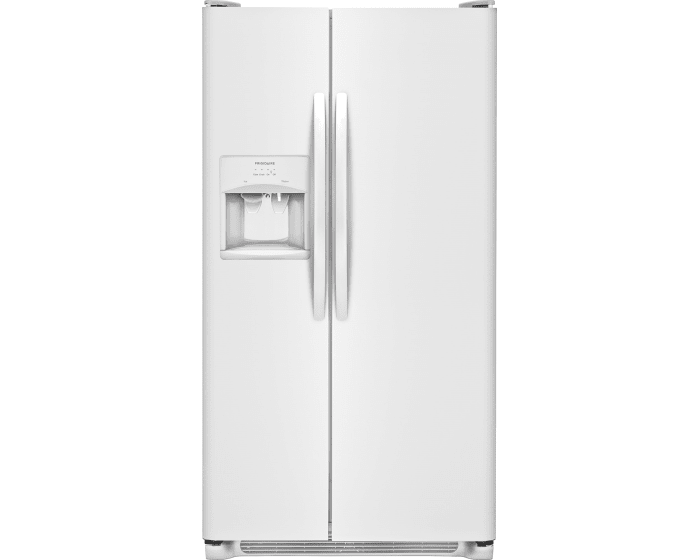Frigidaire 25 cu. ft. Side-By-Side Refrigerator (LFSS2612TP3)
