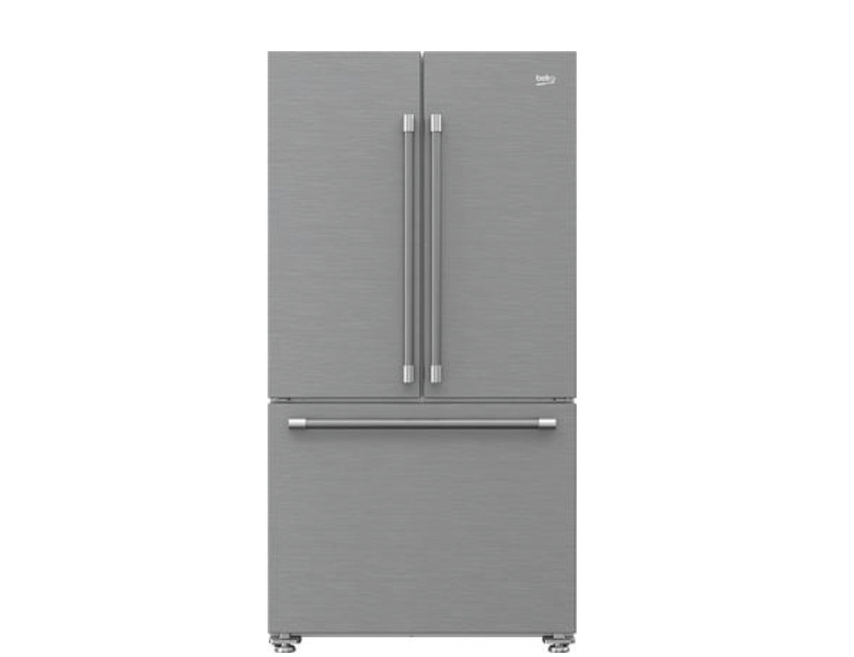 BEKO French Three-door Refrigerator model  BFFD3624SS