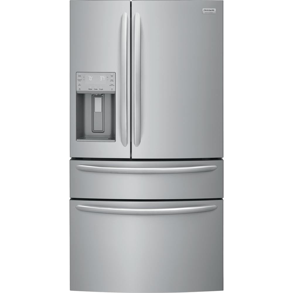 Frigidaire Gallery 36 in. W 21.7 cu. ft. 4-Door French Door Refrigerator(FG4H2272UF)