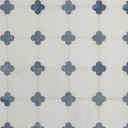 AZULA FLORET MARBLE TILE (SQ FT)