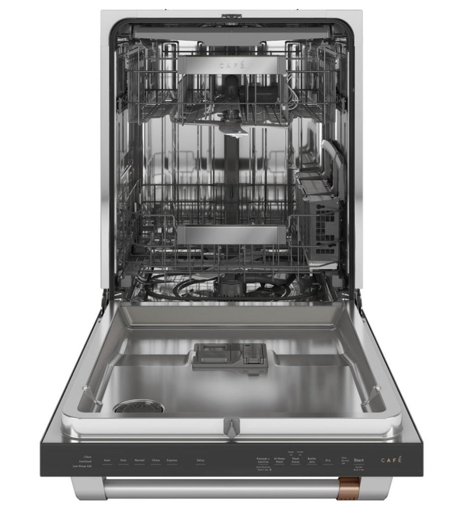 GE 24 in. Top Control Tall Tub Dishwasher in Stainless Steel with Stainless Steel Tub, 45 dBA Model CDT845P2NS1