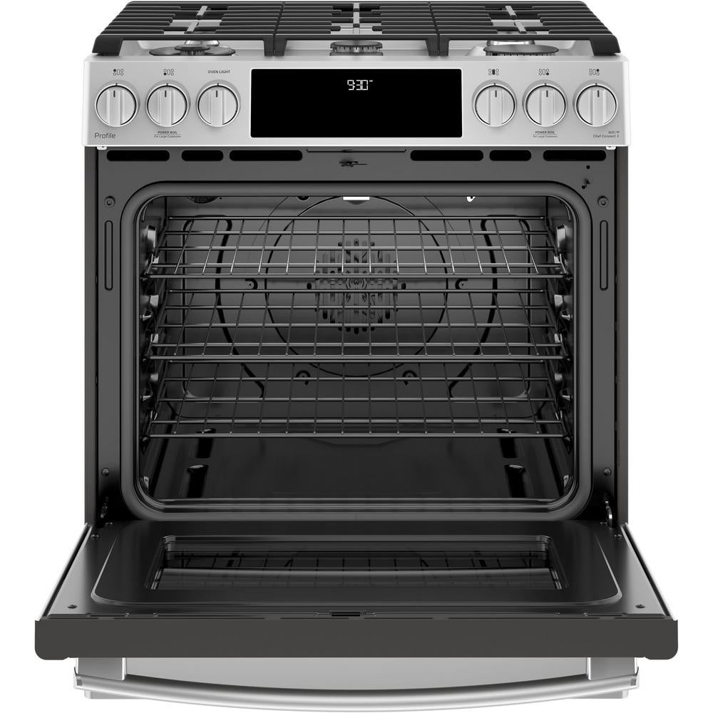 GE 4 Piece Kitchen Package with Upgraded GE Profile Range (gas)