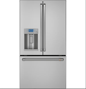 Café™ ENERGY STAR® 22.1 Cu. Ft. Smart Counter-Depth French-Door Refrigerator with Hot Water Dispense model CYE22TP2MS1