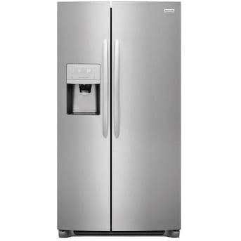 Frigidaire Gallery 25.5-cu ft Side-by-Side Refrigerator with Ice Maker (LGHX2636TFB)