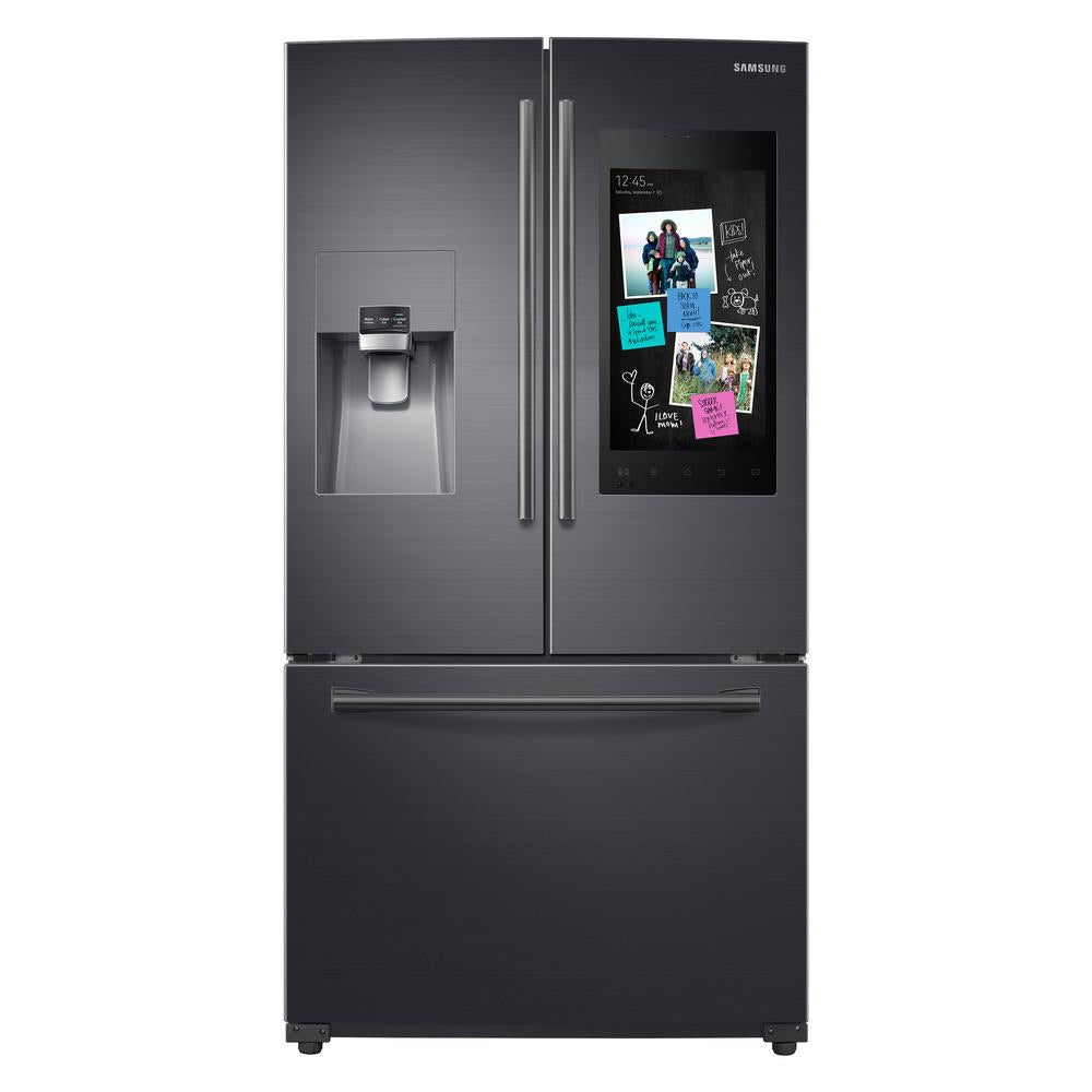 Samsung Family Hub Family Hub 26.5-cu ft French Door Refrigerator with Ice Maker