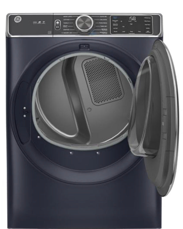 GE® 7.8 cu. ft. Capacity Smart Front Load Electric Dryer with Steam Model GFD85ESPNRS