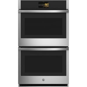 Profile 30 in. Double Electric Wall Oven with Convection Self-Cleaning In Stainless Steel (Black Stainless Also Available)