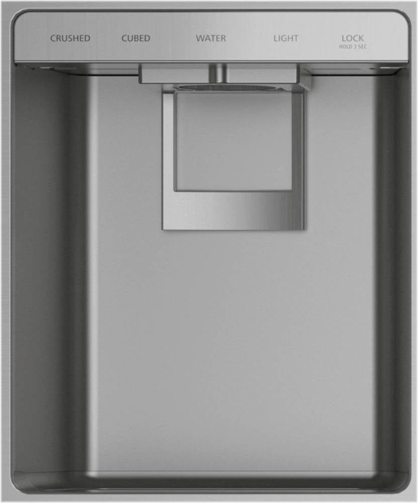 "Monogram 48"" Built-In Refrigerator with Dispenser - Stainless steel"