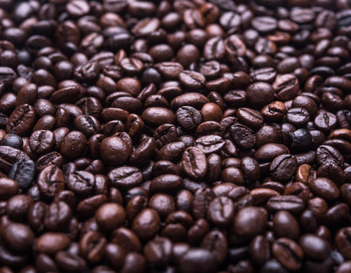 Featured ingredient Coffee bean powder
