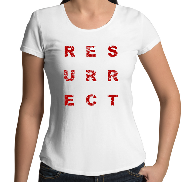 Aged Resurrect Women's Scoop Neck T-Shirt