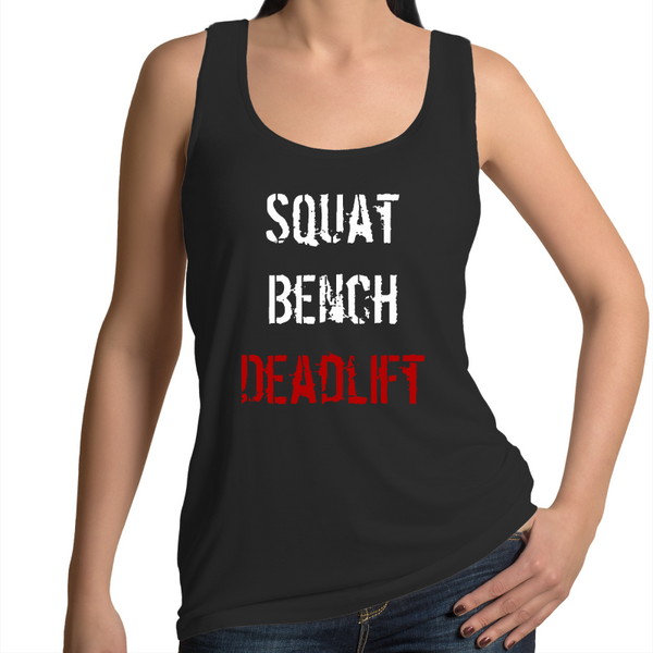 Squat Bench Dead Women's Singlet