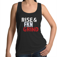 Rise and Grind Women's Singlet