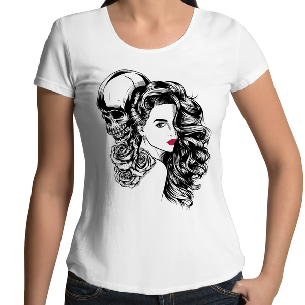 Sweet Lips Woment's Scoop Neck T-Shirt