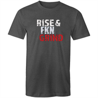 Rise and Grind T-shirt design