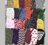 WHOLE-107 50 Designer Inspired Silk DURAGS Headbands head scarfs