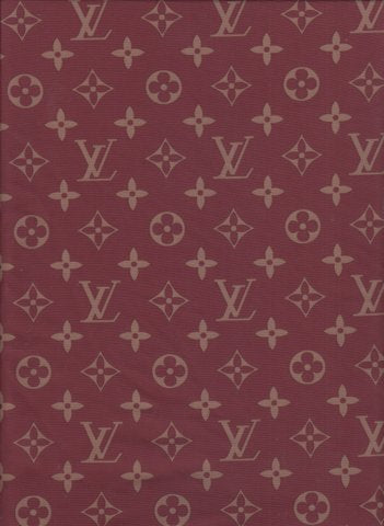 N-502 Designer Inspired MAROON and GOLD Spandex Lycra Fabric