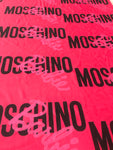 MOS-105 Designer Inspired MOSCHINO PINK BARBIE Spandex Lycra Fabric