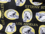 NFL-201 TEAM LOS ANGELES CHARGERS Spandex Lycra Fabric