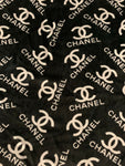 VELVET-206 Designer Inspired Black VELVET Fabric