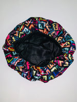BONNET-13 Designer Inspired BONNET Multicolor Durag hair tie