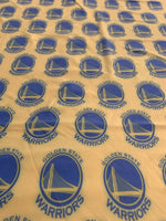 NBA-101 TEAM GOLDEN STATE WARRIORS Spandex Lycra Fabric