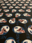NFL-103 NEW ENGLAND PATRIOTS TEAM Spandex Lycra Fabric