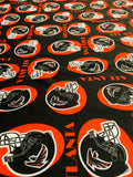 NFL-109 ATLANTA FALCONS TEAM Spandex Lycra Fabric