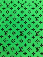 N-510 Designer Inspired Lime Green Spandex Lycra Fabric