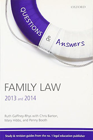 Questions & Answers Family Law 2013-2014 Law Revision and Study Guide 7/e (Law Questions & Answers)