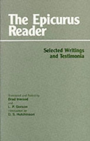 The Epicurus Reader: Selected Writings and Testimonia (HPC Classics)