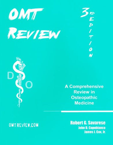 OMT Review: A Comprehensive Review in Osteopathic Medicine