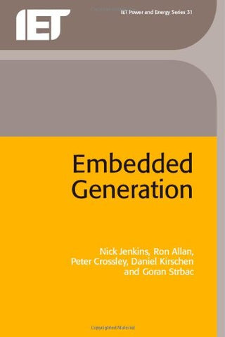 Embedded Generation (IEE Power) PBPO0310 (Energy Engineering)