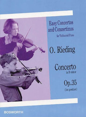 Easy Concertos and Concertinos for Violin and Piano: Concerto In B Minor Op.35