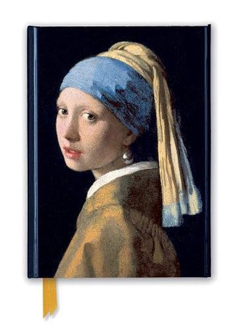 Johannes Vermeer: Girl with a Pearl Earring (Foiled Journal) (Flame Tree Notebooks)