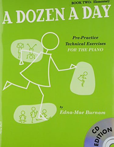 A Dozen A Day: Book Two - Elementary Edition (Book And CD) (Book & CD)