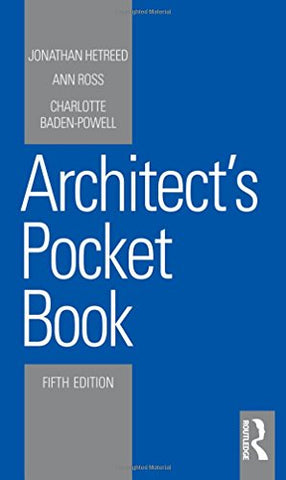 Architect's Pocket Book (Routledge Pocket Books)