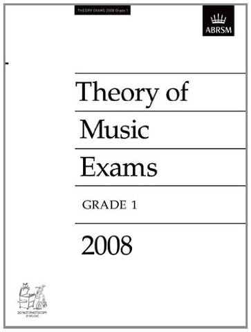Theory of Music Exams, Grade 1, 2008 (Theory of Music Exam papers (ABRSM))