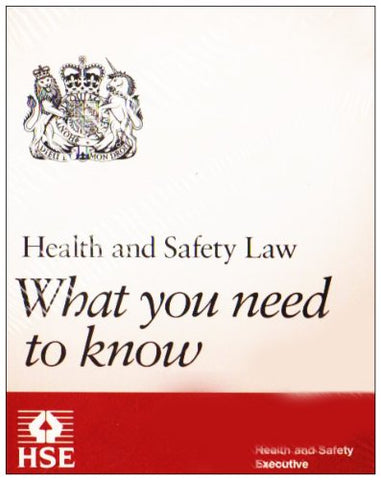 Health and Safety Law: What You Need to Know (Foldable Pocket Cards)