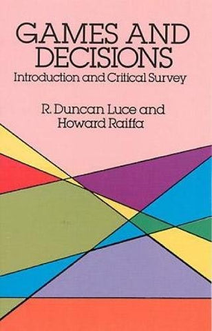 Games and Decisions (Dover Books on Mathematics)