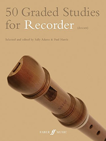 50 Graded Studies for Recorder (Descant) (Faber Edition)