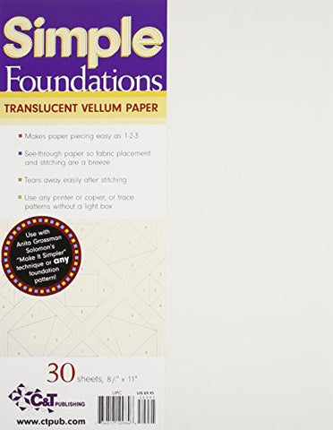 Simple Foundations Translucent Vellum Pa