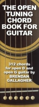 Brendan Gallagher The Open Tuning Chord Book For Guitar Gtr