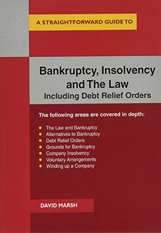 Bankruptcy Insolvency and the Law : A Straightforward Guide (Straightforward Guides)