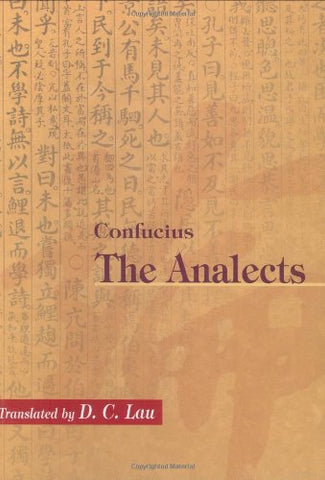Confucius: The Analects (Chinese University Press)
