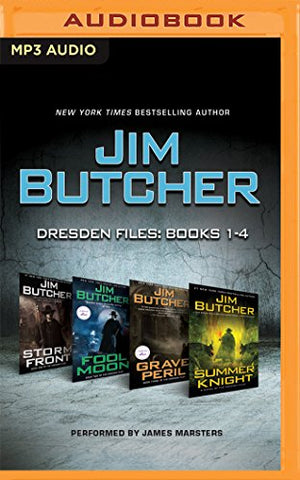 Storm Front/Fool Moon/Grave Peril/Summer Knight (Dresden Files)