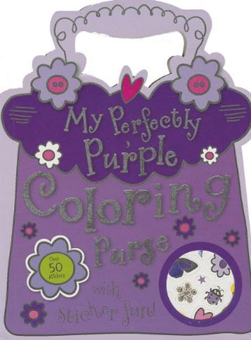 Mini My Perfectly Purple Coloring Purse