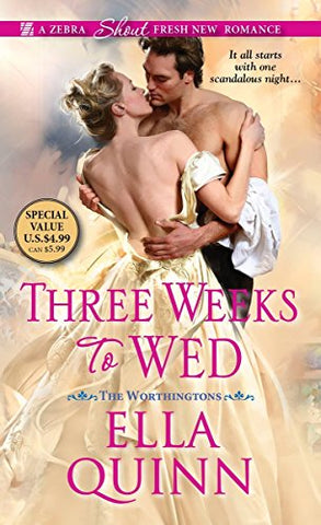 Three Weeks to Wed (The Worthingtons)