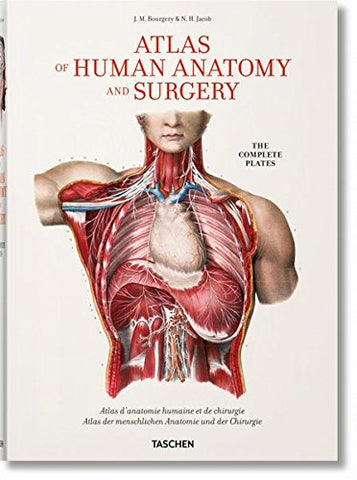 Bourgery: Atlas of Human Anatomy and Surgery (Fp)