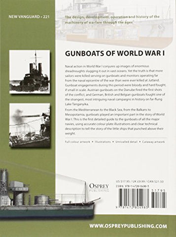 Gunboats of World War I (New Vanguard)