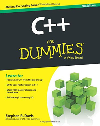 C++ For Dummies, 7th Edition (For Dummies (Computers))